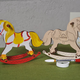 Australia UGEARS COLOUR ROCKING HORSE