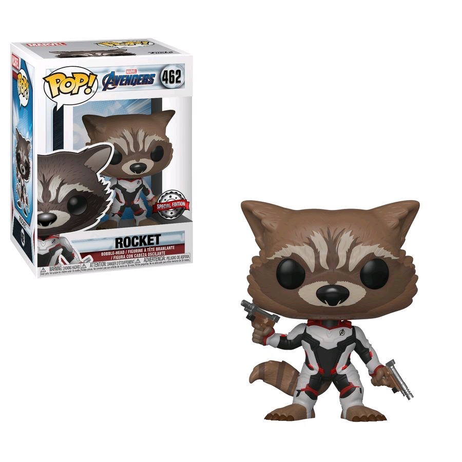 Australia Avengers 4 - Rocket Team Suit Pop!