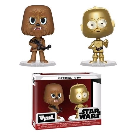 Australia Star Wars - Chewbacca & C-3PO Vynl.