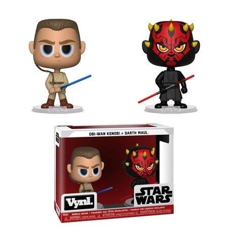 Australia Star Wars - Darth Maul & Obi Wan Vynl.