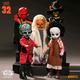 """Australia Living Dead Dolls - s32 10"""" ASST"""