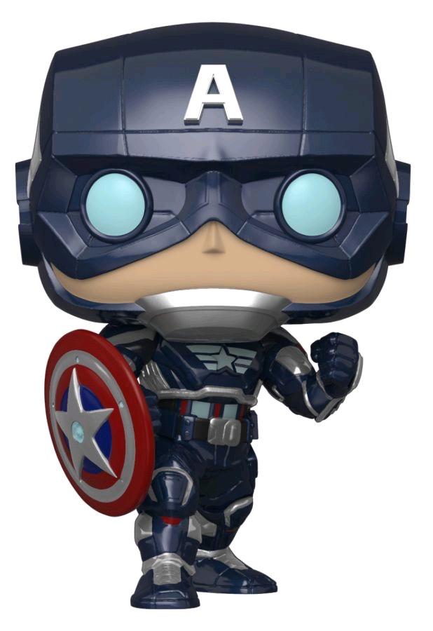 Australia Avengers (VG2020) - Captain America GW Pop! RS