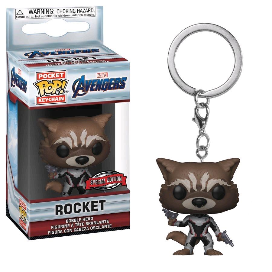 Australia Avengers 4 - Rocket Pop! Keychain