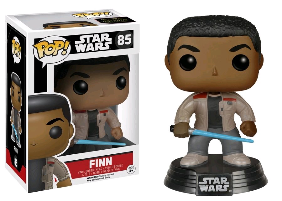 Australia Star Wars - Finn with Lightsaber Ep7 Pop!