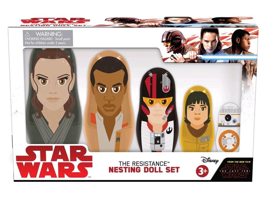Australia Star Wars - Resistance Ep8 Nesting Dolls