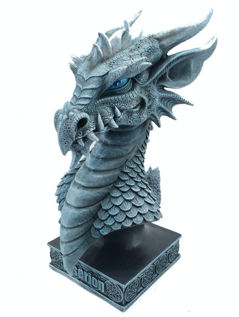 Australia Viserion Dragon Statue Bust