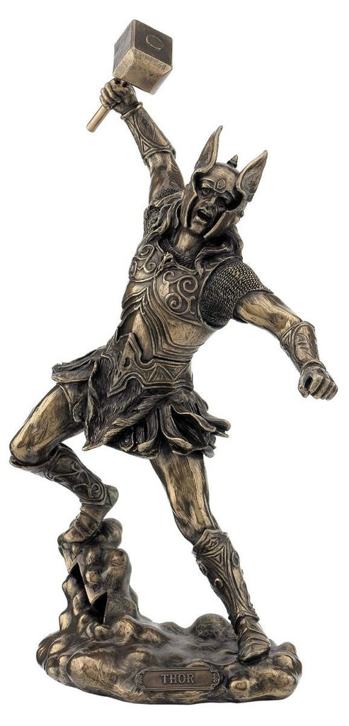 Australia Thor God of Thunder Bronze Statue