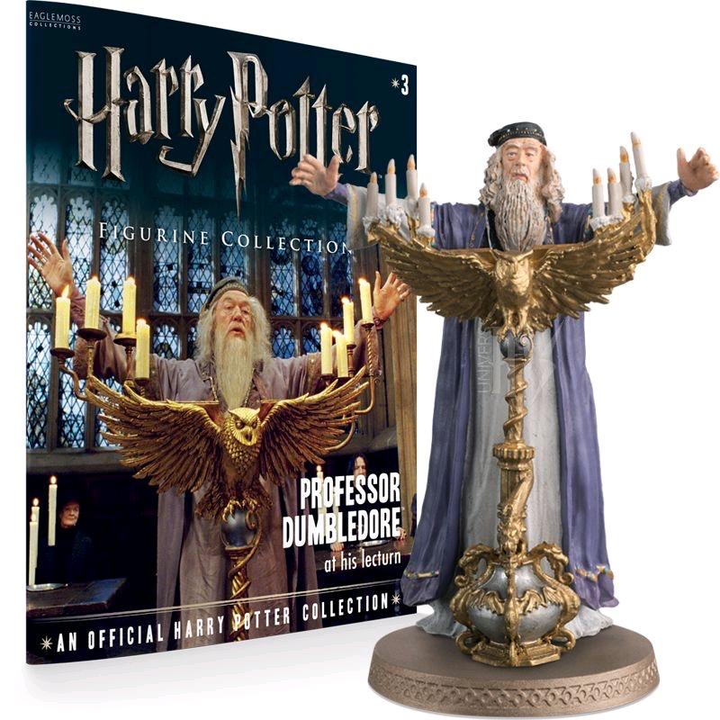 Australia Harry Potter - Dumbledore 1:16 Figure & Mag