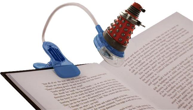 Australia Dr Who - Clip on Booklight