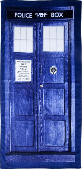 Australia Dr Who - TARDIS Beach Towel