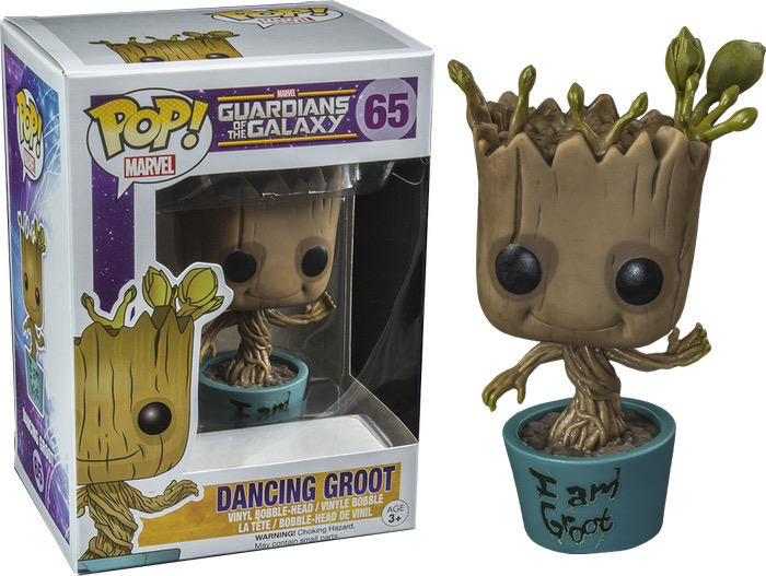 Australia GotG - Dancing Groot I am Pop!
