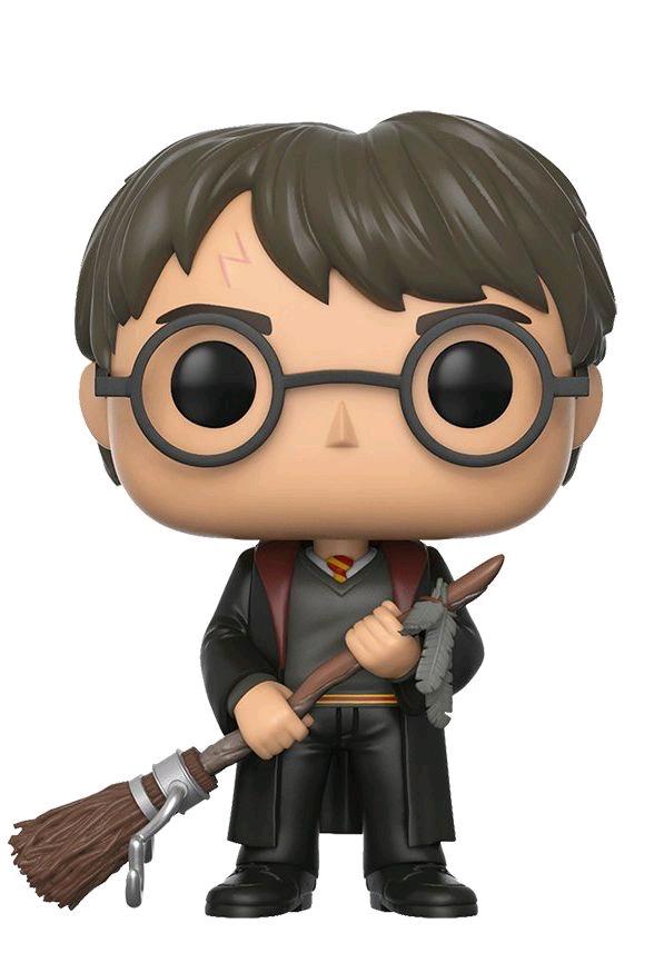 Australia Harry Potter - Harry w/Firebolt Pop! !E RS