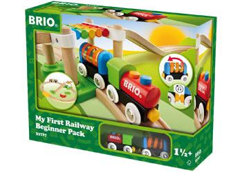 Australia Brio My First - Railway Beginner Pack 18pcs
