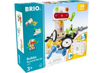 Australia BRIO STEM - Builder Record Play Set