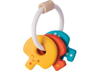 Australia PlanToys - Baby Key Rattle