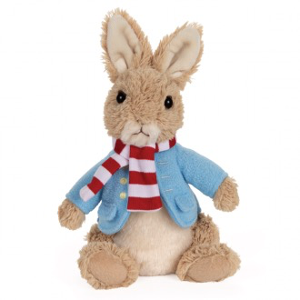 Australia SOFT TOY: PETER RABBIT HOLIDAY PLUSH **NC
