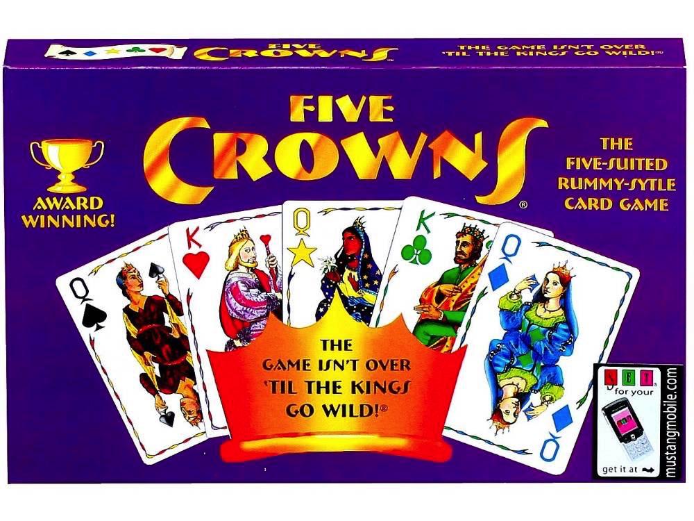 Australia FIVE CROWNS CARD GAME