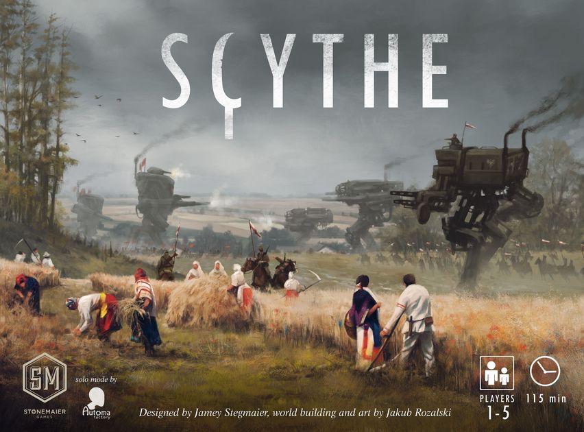 Australia SCYTHE  (STONEMAIER)