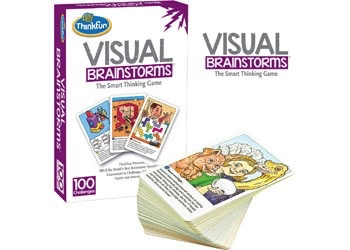 Australia ThinkFun - Visual Brainstorms Game