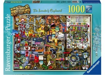 Australia Rburg - The Inventor's Cupboard 1000pc Puzzle
