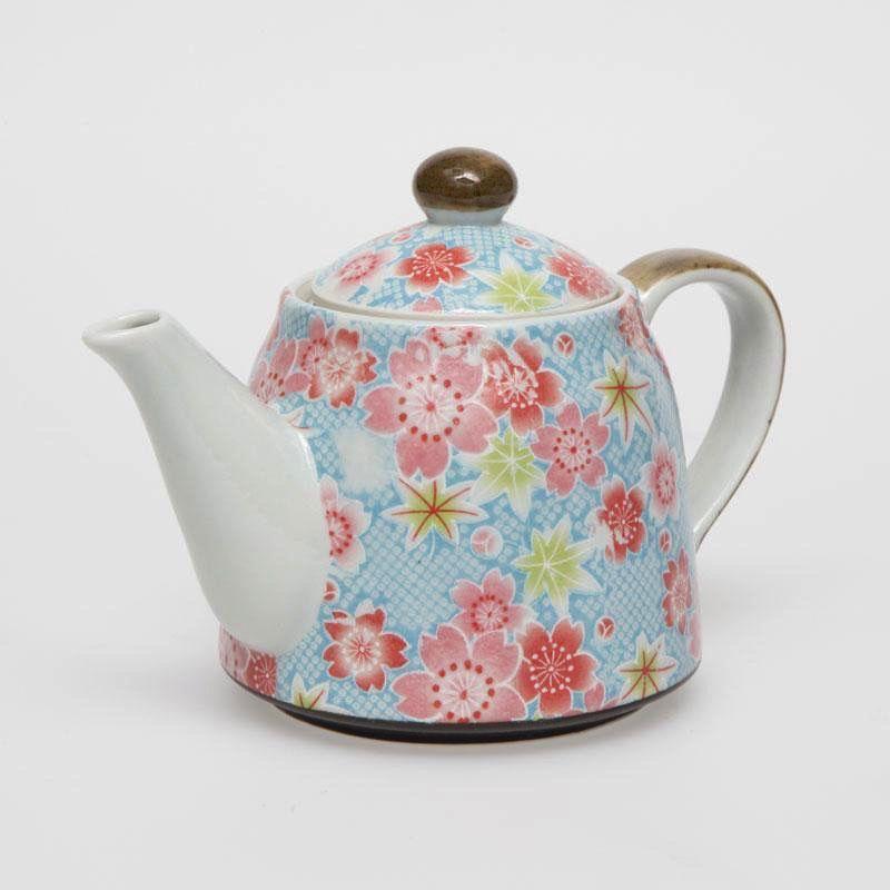 Australia Kanoko Yuzen Blue Teapot