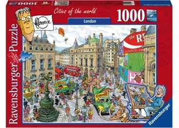 Australia Rburg - London 1000pc Puzzle
