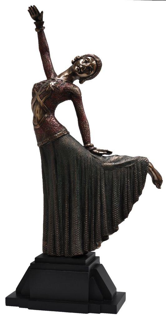 Australia Deco lady dancing