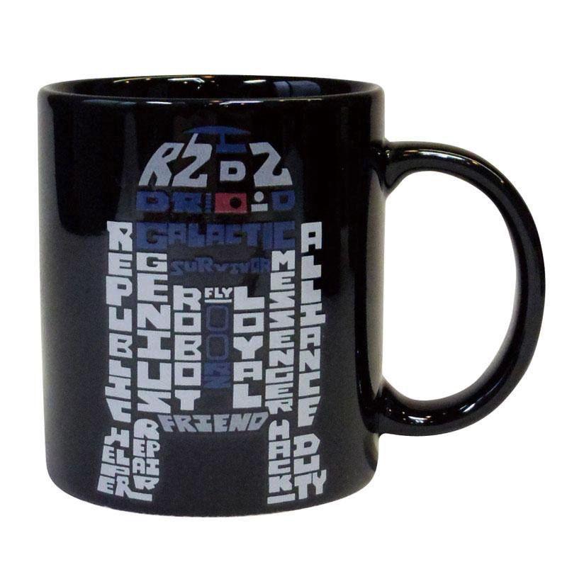Australia R2D2 Typography Mug - Star Wars