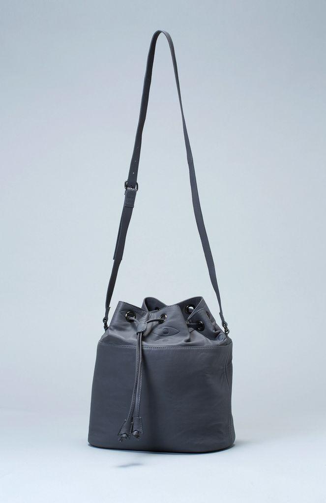 Australia Grey Abake Bucket Bag