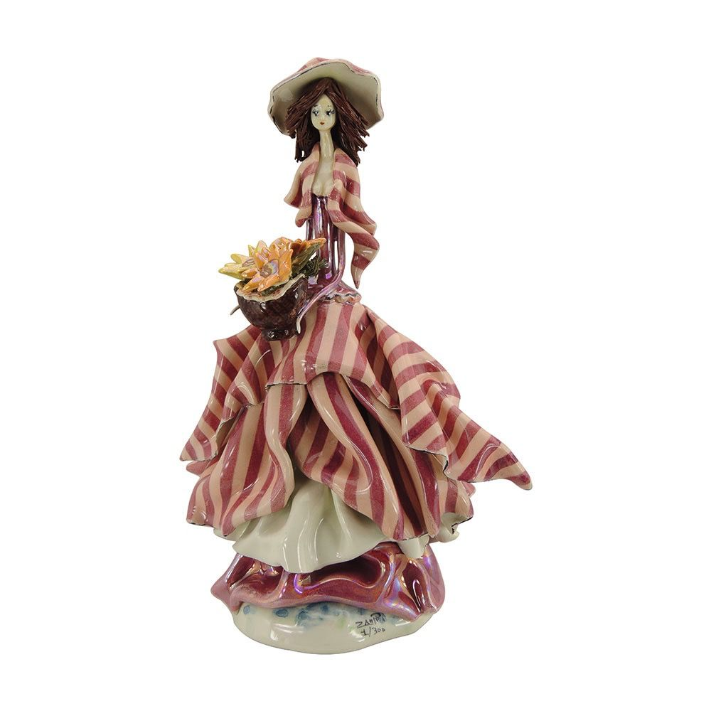 Europe Small lady pink w/flowers