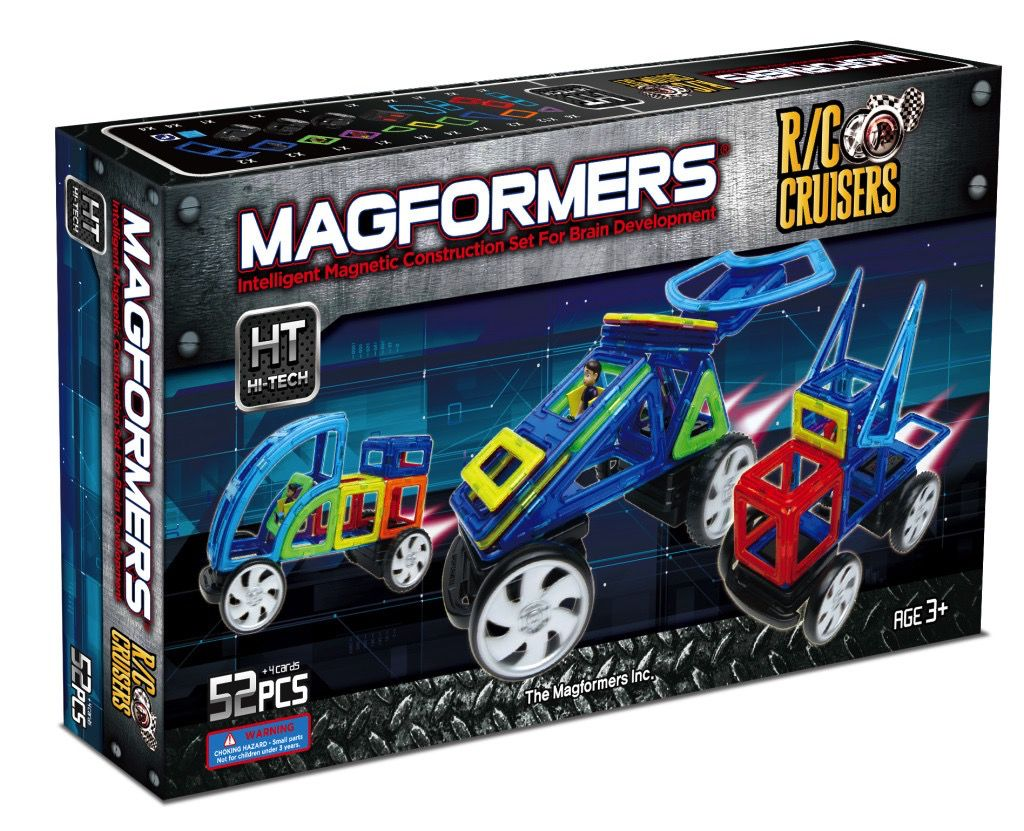 Australia Magformers RC Cruisers (Remote Control) Set