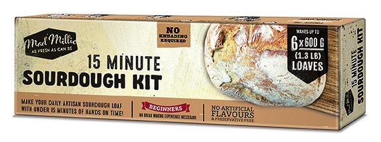 Australia Kit Manual Mad Millie 15 Minute Sourdough Kit