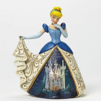"Australia DT 6"" CINDERELLA W/CASTLE DRESS"