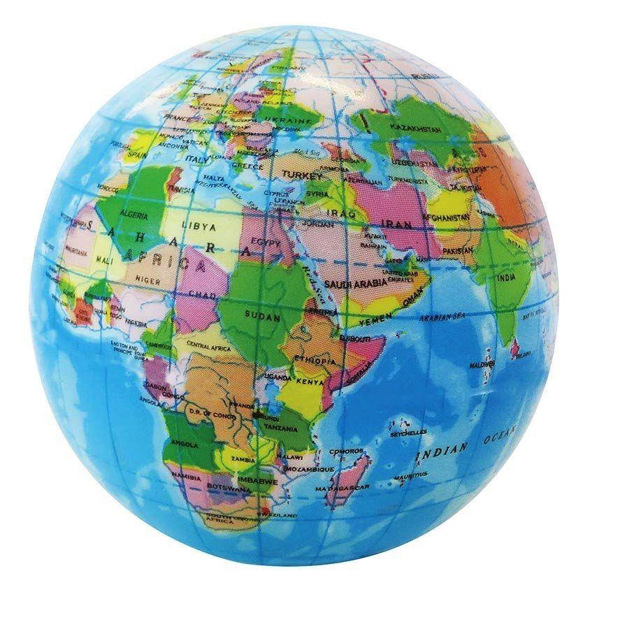 Australia Earth Stress Ball 75mm