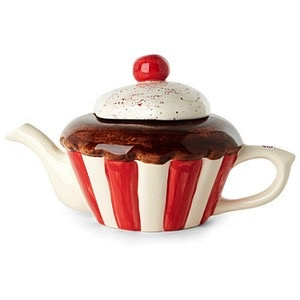 Europe CUPCAKE FULL SIZE TEAPOT