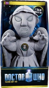 Australia Dr Who - Weeping Angel Talking Plush