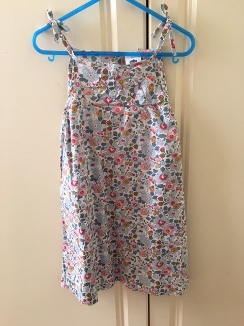 Australia Elizabeth Dress - Liberty Powder Blue 36m