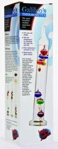 Australia Galileo Thermometer - 28cm