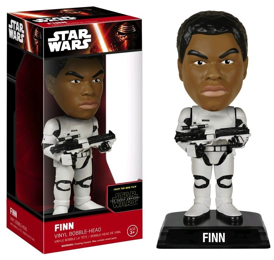 Australia Star Wars - Finn Stormtrooper Ep 7 Wacky Wobbler