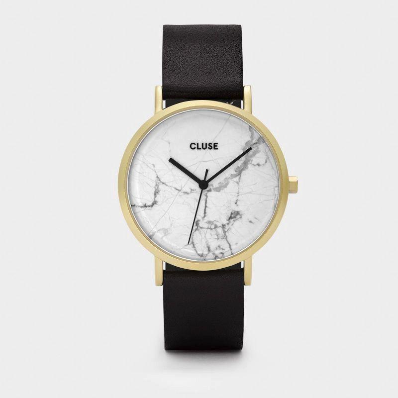 Australia CLUSE La Roche Gold White Marble/Black