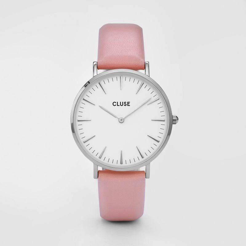 Australia CLUSE La Boheme Silver White/Pink