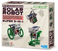 Australia 3 IN 1 MINI SOLAR ROBOT