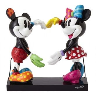 Australia RB MICKEY AND MINNIE LARGE FIGURINE