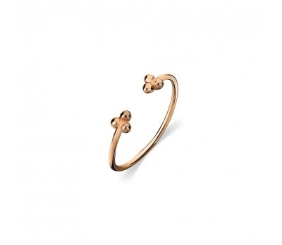 Australia Rose Gold Ball detail ring