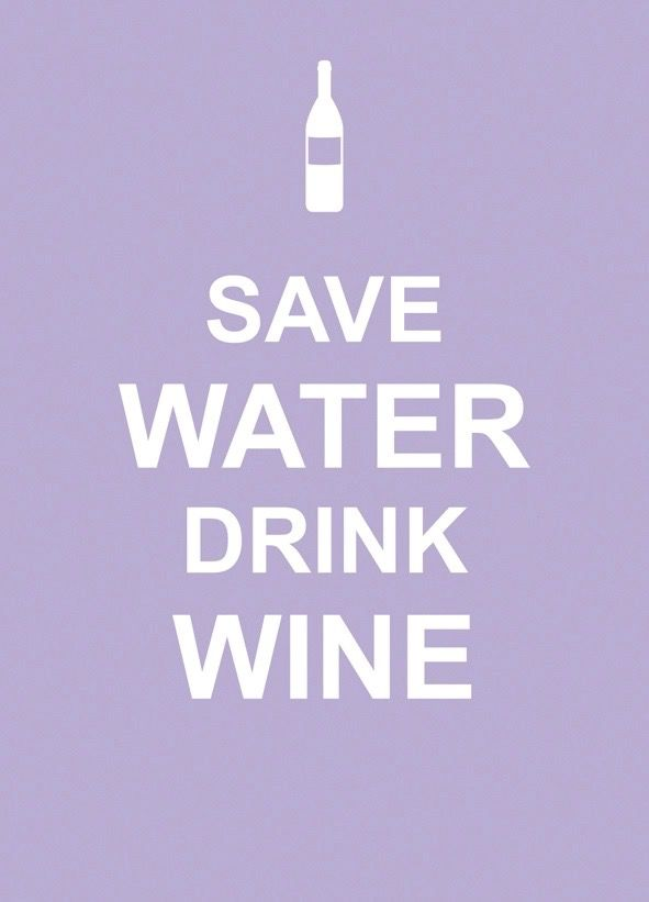 Australia Save Water Drink Wine / EDITORS SUMMERSDALE