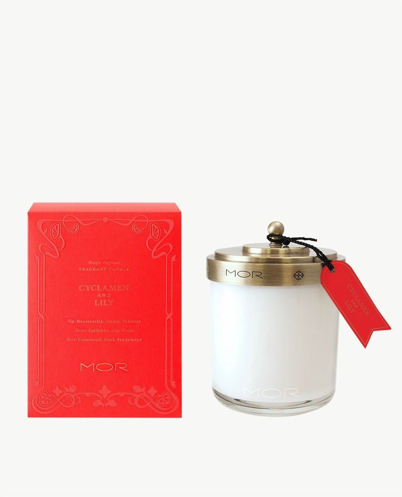 Australia FRAGRANT CANDLE 380g CYCLAMEN & LILY