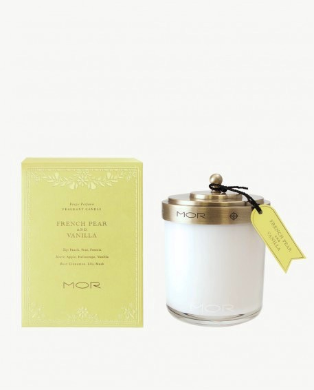 Australia FRAGRANT CANDLE 380g FRENCH PEAR & VANILLA