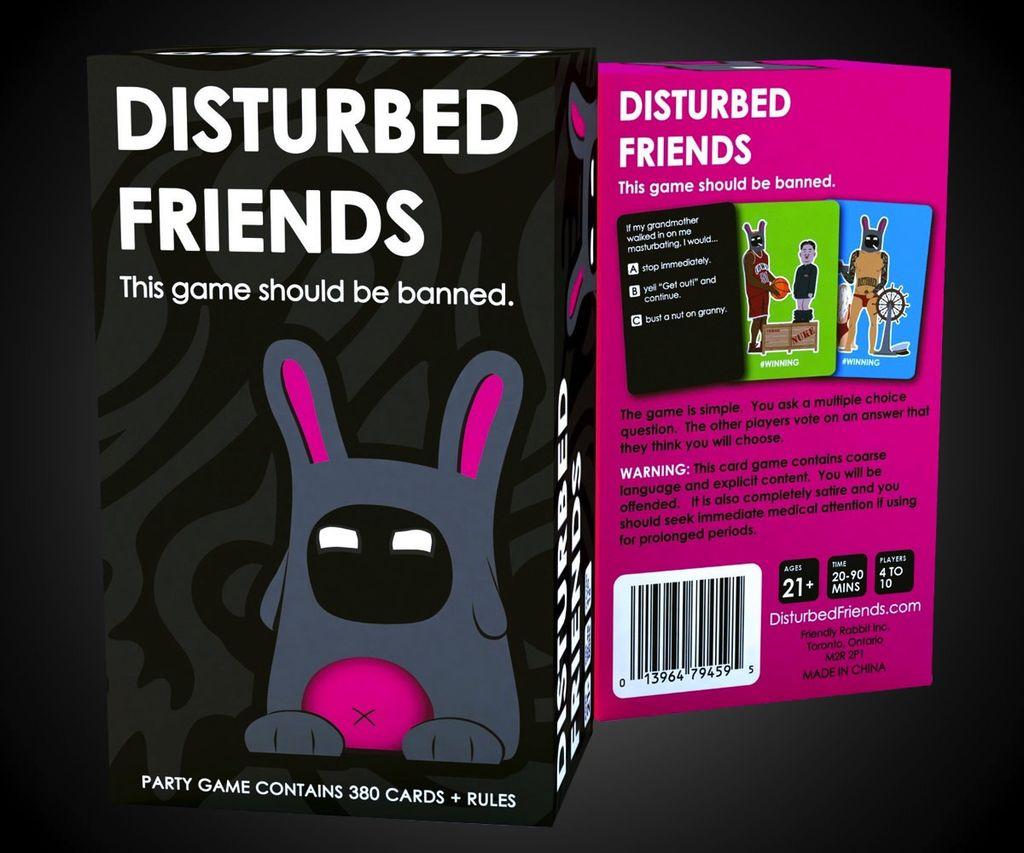 Australia Disturbed Friends
