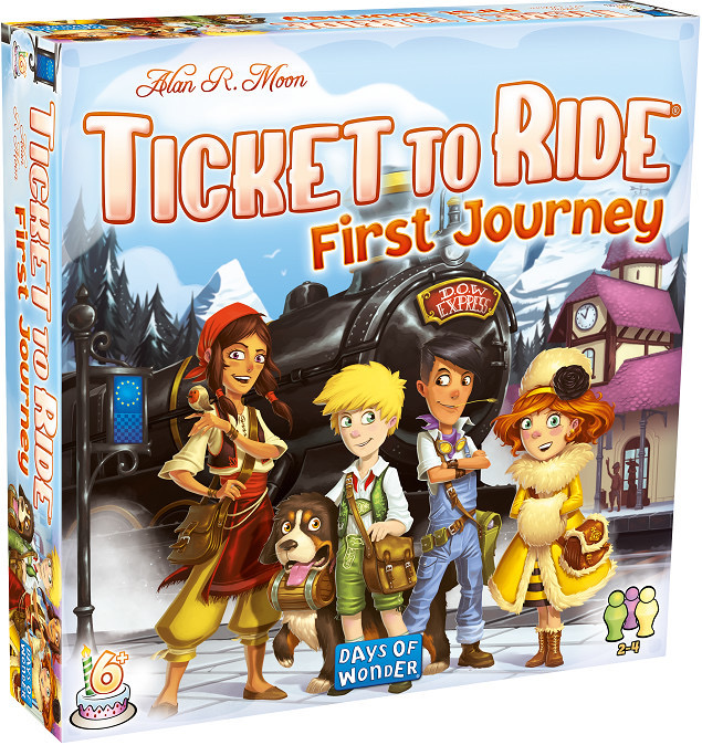 Australia Ticket to Ride First Journey