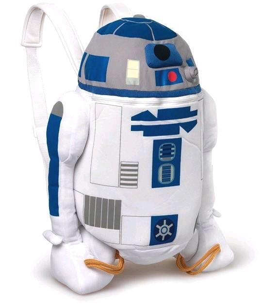 Australia STAR WARS - R2-D2 PLUSH BACKPACK